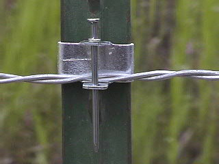 Our Most Popular Steel T Post Lay Down Fence Clips